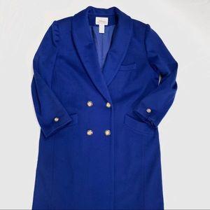 Wool dress coat Like New!